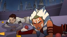 Still from the Star Wars: Forces of Destiny episode, 'The Imposter Inside'
