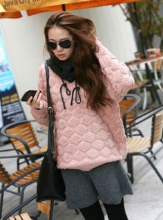 Women College Style Casual Pullover Sweater on BuyTrends.com, only price $21.00