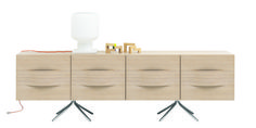 Discover modern sideboards from BoConcept. Design to suit your style and home. Boconcept, Sideboard Modern, Oak Sideboard, Side Board, Decor Pad, 3d Texture, Furniture Decor, Shelving, Designer