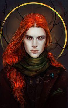character, illustration, longhair, original, portrait