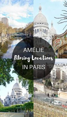 Amélie filming locations in Paris, France. Spots and places from the film you won't want to miss in the French capital!