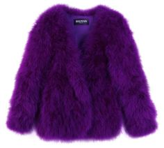 This gave me a situation in my pants it is everything I love. Purple and fluffy.