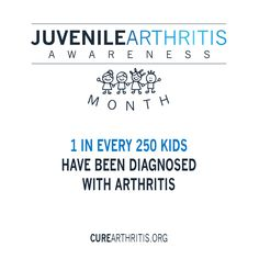 A cause near and dear to AOIIs heart Repost from using - Awareness Month: 1 in every 250 kids have been diagnosed with arthritis. Juvenile Rheumatoid Arthritis, Types Of Arthritis, The Cure, Cancer, Knowledge, Healing, Kids, 21 Days, Heart