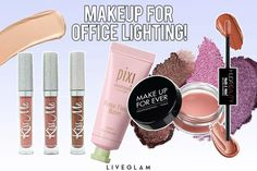 How to Get Your Makeup to Look Good in Fluorescent Lighting makeup lighting hacks - Makeup Hacks Pro Makeup Tips, Best Makeup Products, Makeup Hacks, Office Makeup, You Got This, That Look, Under The Lights, Cream Blush, Setting Spray