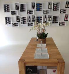 #Portabottiglie Esigo 5 Total white #arredamento #design moderno enoteca #Winerack Esigo 5 Total white #modern #wineracks #wineshop #furniture