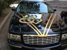 Decoration of Cars for Wedding, part 4 - Mundo de la boda Wedding Car Decorations, Wedding Themes, Wedding Designs, Diy Wedding, Wedding Cars, Wedding Beauty, Bridal Car, Wedding Gallery, Marriage