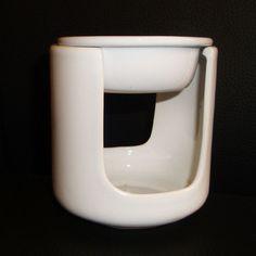 weiße Duftlampe