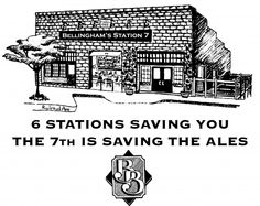there are 6 fire stations in Bellingham.  the firefighters call our brewpub Station 7