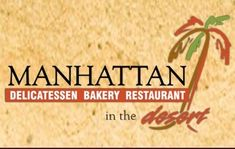 Manhattan in the Desert, Palm Springs, Ca. Now open in Palm Desert too! Sandwich Menu, Deli Sandwiches, Ny Style, New York Style, Palm Desert, Desert Trip, Palm Springs Restaurants, American Restaurant, Dinner Menu