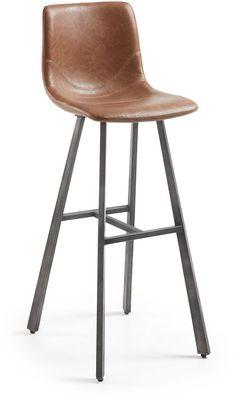 Trac barkruk hoog bruin - LaForma | Robin Design