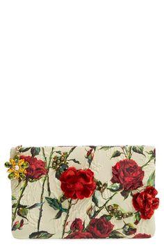 Dolce&Gabbana Floral Clutch