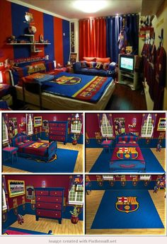 Barca Bedrooms for young Cules.