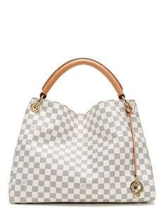 Damier Azur Artsy MM by Louis Vuitton at Gilt Louis Vuitton Artsy, Vintage Louis Vuitton, Louis Vuitton Neverfull, Handbags Online, Louis Vuitton Handbags, Purses And Handbags, Leather Handbags, Vuitton Bag, Fashion Bags