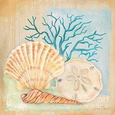 Jean Plout Art - Seaside Dream-A by Jean Plout