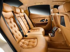 Stunning Maserati interior..... Can you smell that leather?!