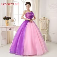 >> Click to Buy << 2017 wedding clothes one shoulder puffy skirt design long Quinceanera dress formal dress #Affiliate