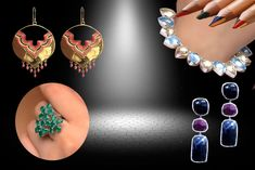 Innovative designing and Manufacturing of Gems and Jewelry Aesthetic Look, Self Design, Ethnic Fashion, Looking Gorgeous, Gemstone Jewelry, Art Pieces, Artisan, Jewelry Design, Gemstones