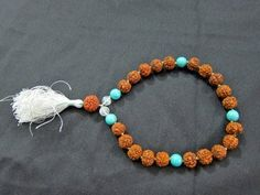 Spiritual Gift- Rudraksha Turquoise Bead Prayer Yoga Meditation Japa Mala ~ 27 + 1 Bead Yoga Jewelry mogul interior, http://www.amazon.com/dp/B00A21BQKK/ref=cm_sw_r_pi_dp_967Lqb05W4EZV