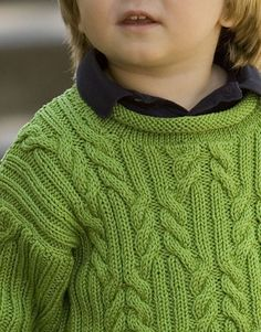 Provence Child's Pullover pattern