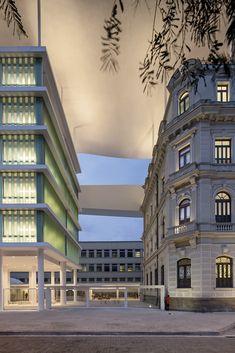 MAR – Museu de Arte do Rio / Bernardes + Jacobsen Arquitetura surreal canopy
