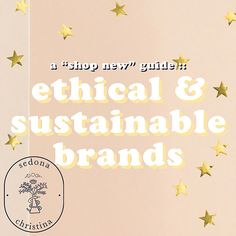 Hello my hunnies! I've been keeping an eye out for some sustainable brands, particularly brands who specialize in the things I'd rather not thrift and buy prev