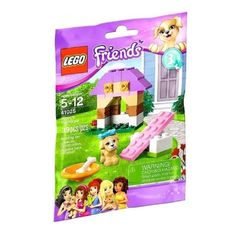 Lego Friends 41025 Puppy's Playhouse Set Retired Series 3 Bag!  New/Sealed 39pcs #LEGO