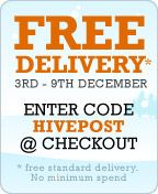 Hive Stores. Looks like a good alternative to the big tax-dodging companies, and they're offering free delivery this week.