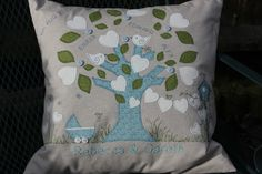Family Tree cushion available from https://www.facebook.com/Babas.Sew.Creative/