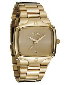 Player Golden Watch NIXON