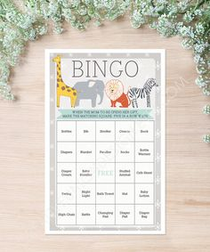 Purchase all the baby shower games in this theme! #babyshowergames