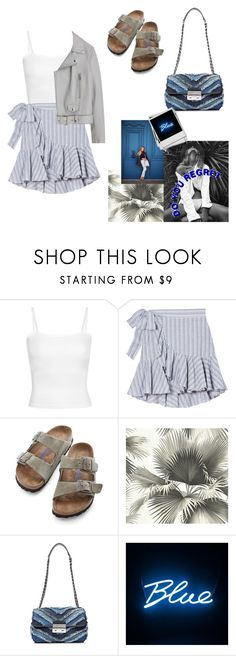"""summer #1"" by sascha-haarup on Polyvore featuring Birkenstock, Karlsson and MICHAEL Michael Kors"