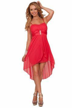 Spaghetti Strap Sweetheart Empire Waist Rhinestone Broche High Low Mini Dress Hot from Hollywood,http://www.amazon.com/dp/B00DZUR8J8/ref=cm_sw_r_pi_dp_kNoAtb18DD4Z6255
