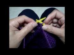 Gorro Crochê Tunisiano (modelo gorro caído e tradicional) - YouTube