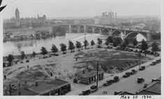 Twin Cities Then & Now Photos - Page 11 - SkyscraperCity Then And Now Photos, Urban Renewal, Paradise Island, Twin Cities, How To Level Ground, Historical Photos, Minneapolis, Old Photos, Minnesota