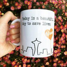 Grey Anatomy McDreamy Quote Mug