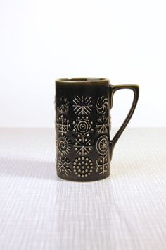 For the java drinker who appreciates retro design. $9.00.
