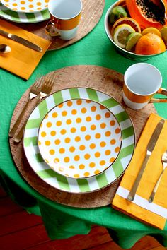 coco kelley for c. wonder // citrus inspired tabletop.