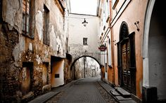 Old Town. Vilnius Lithuania