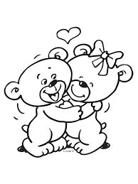 Kleurplaten Verjaardag Me To You.Kleurplaat Me To You Beertje Kleurplaat Hart Valentijn Moederdag