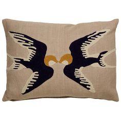 Luli Sanchez En Casa Sparrow Pillow - What's New - Accessories
