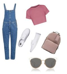 """""""Untitled #1"""" by agustinarubio on Polyvore featuring M.i.h Jeans, Valentino, Vans and Christian Dior"""