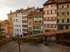 Escaliers du Marche by AlexAnnecy, via Flickr (Lausanne, Switzerland)