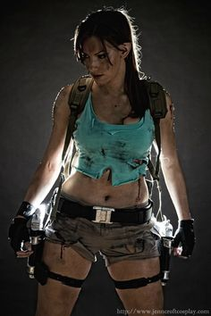 fanart & cosplay - Now That's How Lara Would Really Look