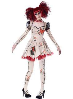 Resultado de imagen para voodoo doll halloween costume