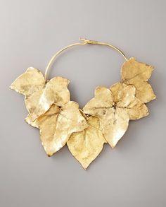 Aurelie Bidermann. Ivy Leaf Necklace