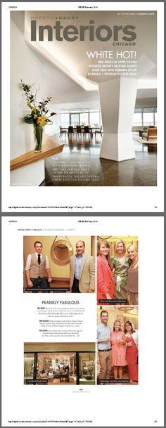 Interiors (Winter 2014) - For Interiors, Please visit http://frankponterio.com/press.php