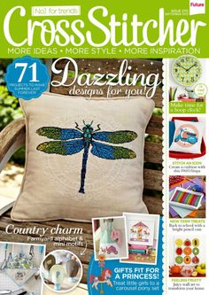 Buy CrossStitcher, September 2013 on our Newsstand or get the subscription to the digital magazine and read it anywhere, anytime. Butterfly Cross Stitch, Cross Stitch Tree, Cross Stitch Books, Beaded Cross Stitch, Diy Embroidery, Cross Stitch Embroidery, Cross Stitch Designs, Cross Stitch Patterns, Magazine Cross