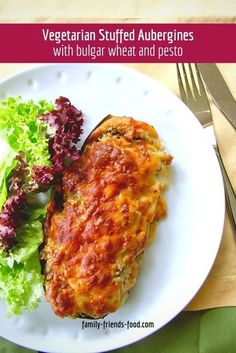 Vegetarian stuffed aubergines with a rich, pesto-infused bulgar filling topped with golden melty cheese. A favourite family dinner. #aubergine #eggplant #vegetarian #dinner #recipe #delicious #food Veggie Recipes Healthy, Vegetable Recipes, Vegetarian Dinners, Vegetarian Recipes, Easy Dinner Recipes, Easy Meals, Kosher Recipes, Cheap Dinners, Jewish Recipes