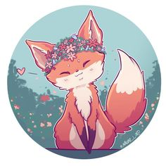"""Polubienia: 2,727, komentarze: 51 – Naomi Lord (@naomi_lord) na Instagramie: """"Doodled a little spring fox because today actually felt like spring could be turning up eventually…"""""""