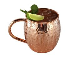 100% Solid Copper Moscow Mule Cup Mug Hand Made Large 18oz Size Authentic Hammered Barrel #kitchen #gadgets @bestbuy9432